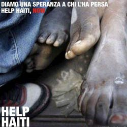 Grafica per concorso Red Cross Help Haiti