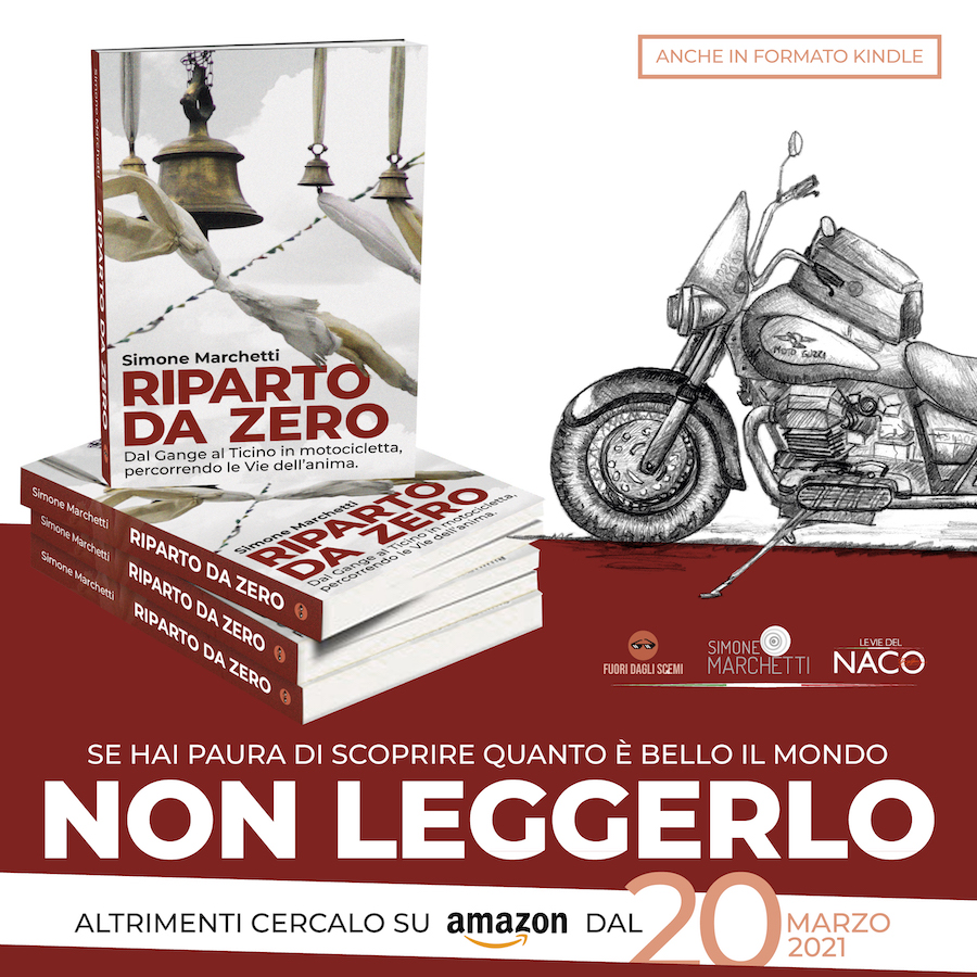 Il libro Riparto da Zero su Amazon